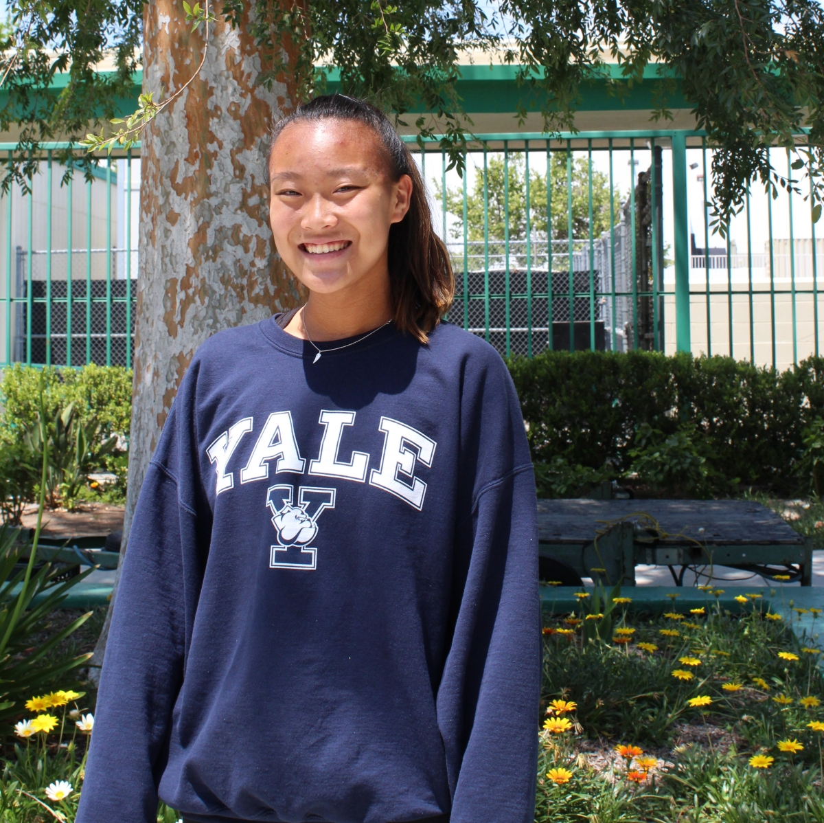 At the top of their field:  Juniors with college commitments - Rena Lin