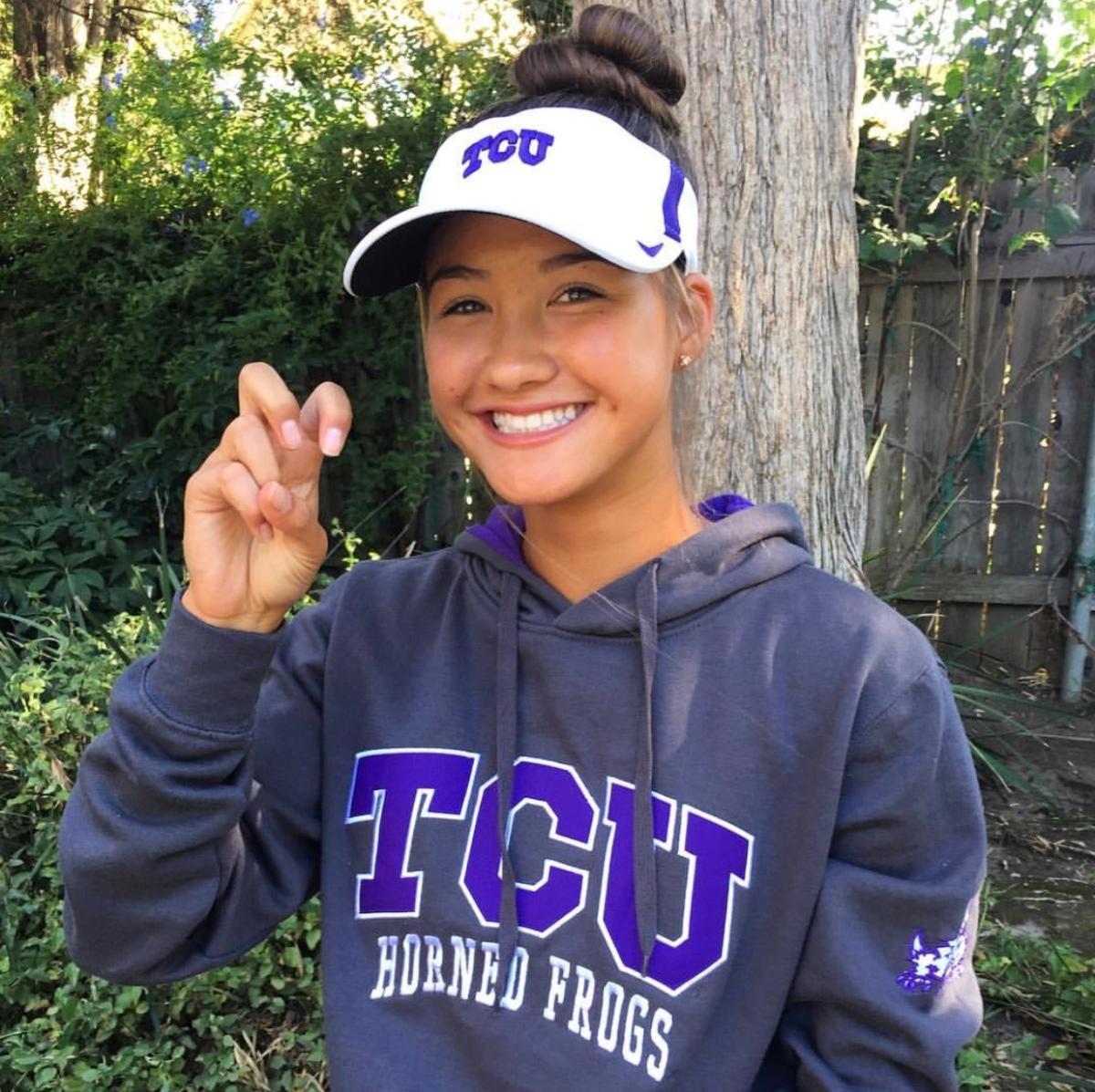 At the top of their field:  Juniors with college commitments - Camille Burman
